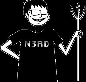 nerd, geek, gamer, nolife