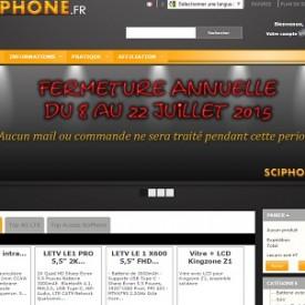Sciphone: produits garantis