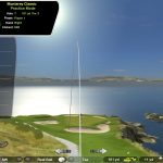 le simulateur de golf